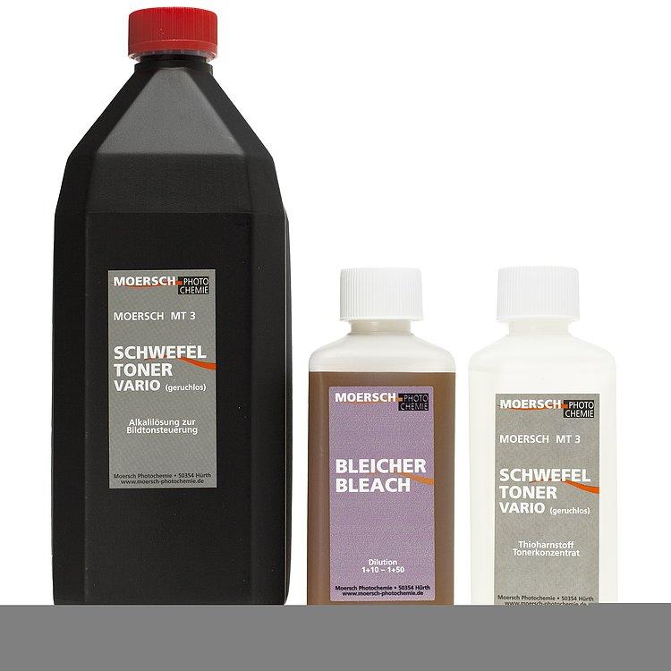 Bild 1 - MOERSCH MT3 Vario Sulfide Toner Kit 2 (Bleach 250ml + Toner 250ml