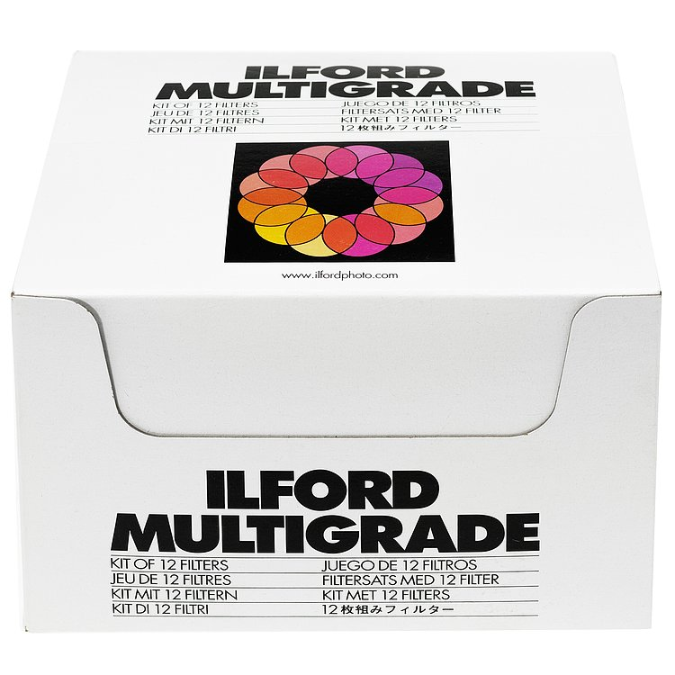 Bild 1 - ILFORD Multigrade Filter Set With Under-Lens Holder (12 Filters)