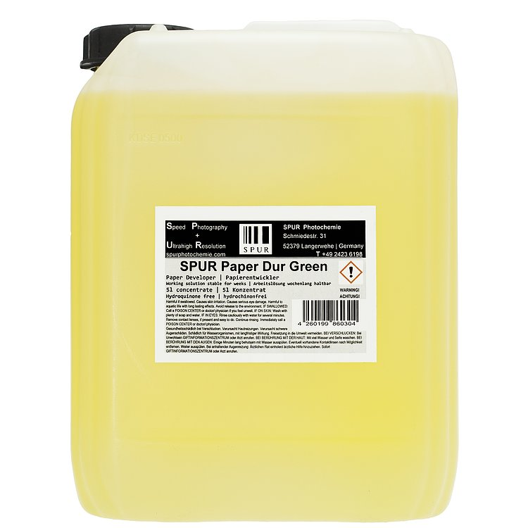 Bild 1 - SPUR Paper Dur Green 5000ml Concentrate