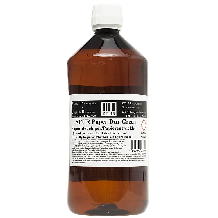 Bild 1 - SPUR Paper Dur Green 1000 ml Concentrate