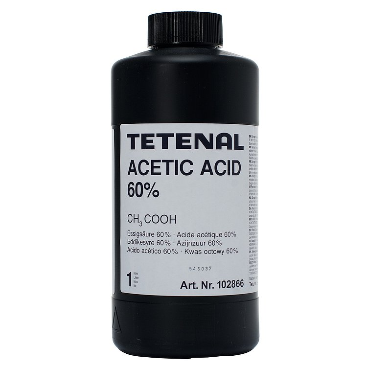 Bild 1 - TETENAL Acetic Acid 60% 1000 ml Concentrate