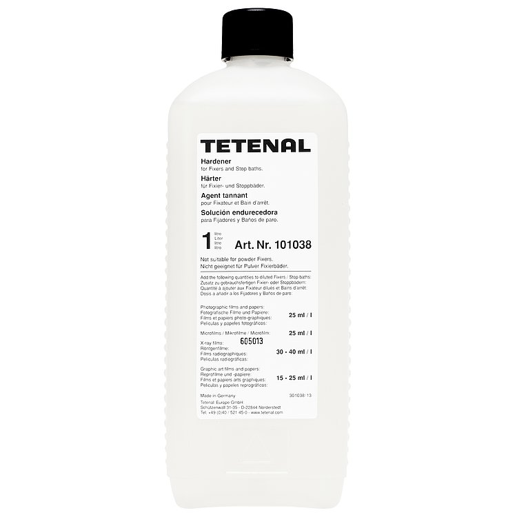 Bild 1 - TETENAL Hardener To Be Added To The Fixer Or Stop Bath 1000 ml
