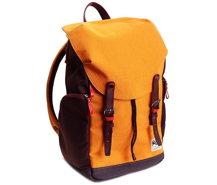 Bild 1 - ZKIN Getaway Kampe Orange-Brown