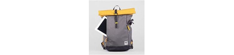 Bild 1 - ZKIN Getaway Yali Backpack Yellow Grey