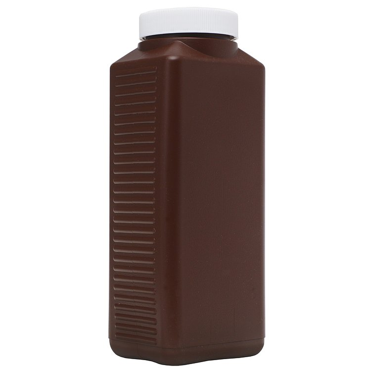 Bild 1 - FOTOIMPEX Wide-Mouth Plastic Chemical Bottle 1000ml Brown