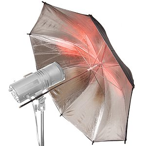 ADOLIGHT Silver Umbrella 80 cm
