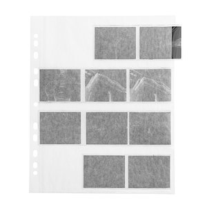 FOTOIMPEX Negative Pages, Paper, 4 Strips 6x7, 6x6, 6x9, Single Sheets