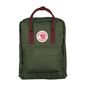 FJÄLLRÄVEN Kanken Forest Green/Ox Red