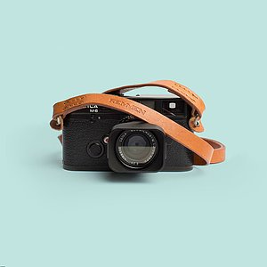 REMMEN Leather Camera strap No.1 Cognac