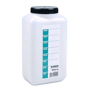 KAISER Bottle 2000 ml (white)