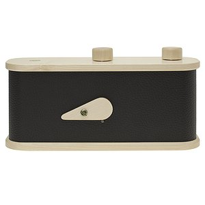LEROUGE 6x12cm wooden Pinhole Camera (black)