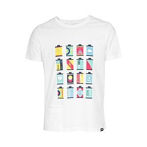 COOPH T-Shirt CANISTERS Off-White (M)