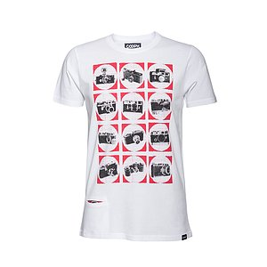 COOPH T-Shirt CAMCHART White (S)