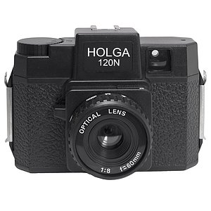 HOLGA 120 N Camera for 120er Rollfilm black