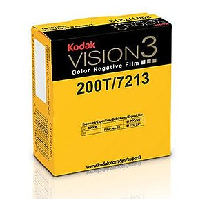 KODAK 200T Color Negative Film VISION3 7213, 50 ft Super 8 Cartridge