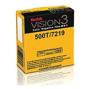 KODAK 500T Color Negative Film VISION3 7219, 50 ft Super 8 Cartridge