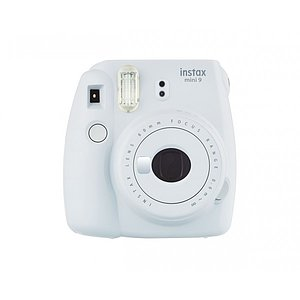 FUJI Instax Mini 9 smoked white incl. Batteries + belt
