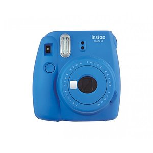 FUJI Instax Mini 9 cobalt blue incl. Batteries + belt