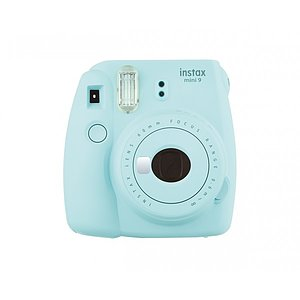 FUJI Instax Mini 9 ice blue incl. Batteries + belt