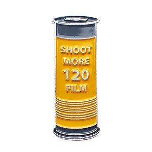 OFFICIAL EXCLUSIVE Shoot more 120 Film Pin