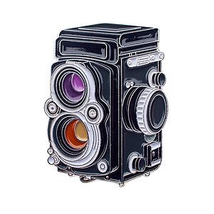 OFFICIAL EXCLUSIVE Rolleiflex Pin