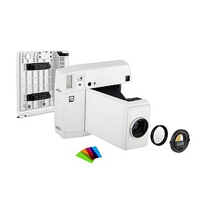 LOMO Instant Square Camera Combo - White