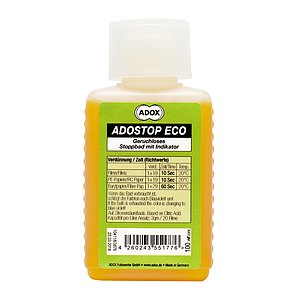 ADOX ADOSTOP ECO Geruchloses Stoppbad with Indicator 100 ml Concentrate