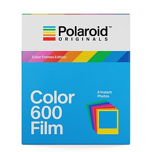 POLAROID ORIGINALS Color Frames Edition 600 Color Film with 8 exposures