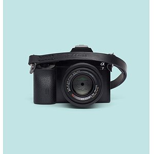 REMMEN REMMEN Leather Camera strap No.2 Black