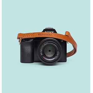 REMMEN REMMEN Leather Camera strap No.2 Cognac