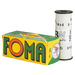 FOMA Fomapan 100 120 Medium Format Film Retro Edition