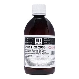 SPUR TRX 2000 High Speed Entwickler 500 ml Concentrate
