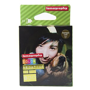 LOMO Lomography Color Negative 800 120 3-Pack