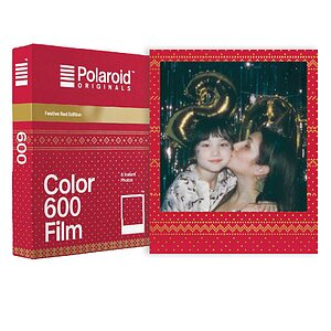 POLAROID ORIGINALS Color Film for 600 Festive Red Edition