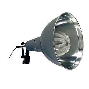 ADOLIGHT 30cm Lamp With Lamp Socket And Metal Reflector