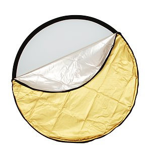 ADOLIGHT Folding Reflector 5-In-1 With Reversible Cover 106 cm