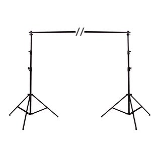 ADOLIGHT Background Stand Set 270 cm High 365 cm Wide, With Carrying Bag