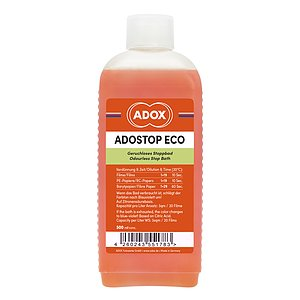 ADOX ADOSTOP ECO Geruchloses Stoppbad with Indicator 500 ml Concentrate