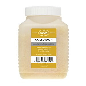 ADOX COLLOIDA P Photo Gelatine For Use With Photo Emulsions 250 Gr (Not Sensitized)