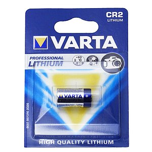 VARTA Batteries: Cr-2 Lithium 3 V (Smaller As 123 La)