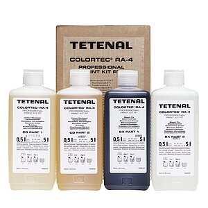 TETENAL Colortec RA 4 Prof. Print Kit Rapid For 5000 ml
