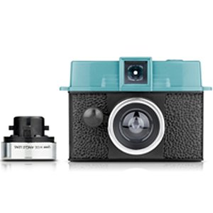 LOMO Lomography Diana Baby 110 Camera And Lens Package