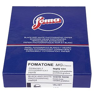FOMA FOMATONE MG CLASSIC 133 - Semi-Matte (Fibre) - 13x18 / 100 Sheets - Gradation: Variable