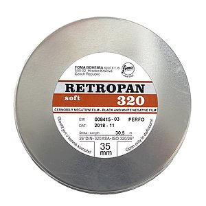 FOMA Retropan 320 Soft 35mm/30,5m