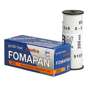 FOMA Fomapan 200 120 Medium Format Film
