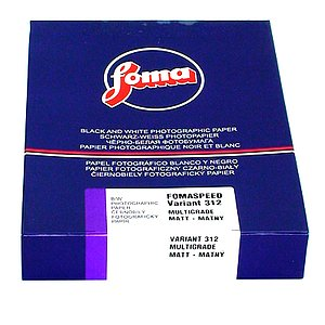 FOMA Fomaspeed Variant 312 - Semi-Matte (RC) - 18x24 / 50 Sheets - Gradation: Variable