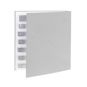 FOTOIMPEX Archival binder for 200 sheets with dust protection box grey