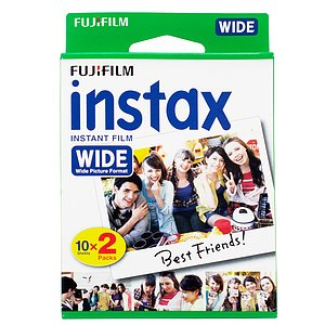 FUJI Instax Wide Film 100 Twin Pack 2x10 sheet