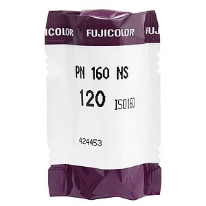 FUJI Pro 160 NS 120 Medium Format Film (Single Roll)