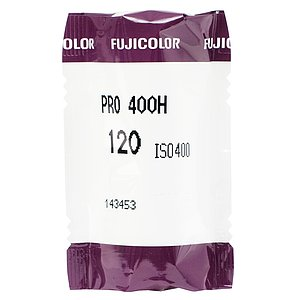 FUJI Pro 400 H 120 Medium Format Film (Single Roll)